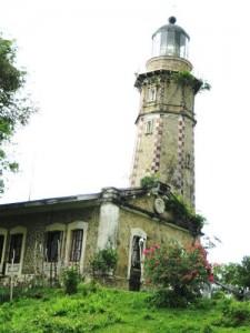 Melville Lighthouse on Balabac Island