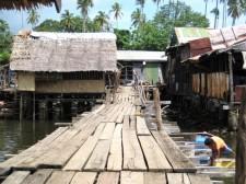Ferry pier in Rio Tuba