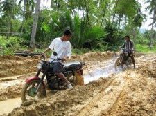 Muddy Roads in Southern Palawan