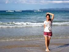 sabang beach palawan