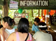 Sabang Underground River Info and Life Jacket Booth