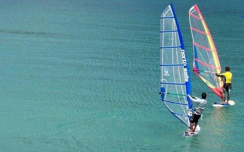 Wind Surfing El Nido